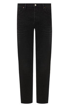 Мужские джинсы ACNE STUDIOS черного цвета, арт. 300176-149 | Фото 1