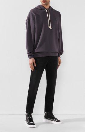 Мужские джинсы ACNE STUDIOS черного цвета, арт. 300176-149 | Фото 2