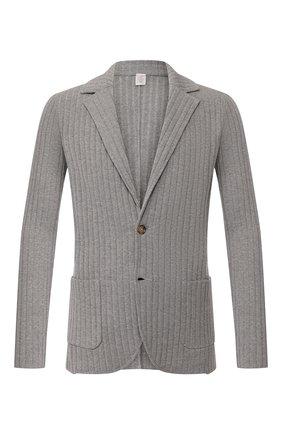 Мужской хлопковый пиджак ELEVENTY PLATINUM серого цвета, арт. A76GIAA01 MAG0A001   Фото 1