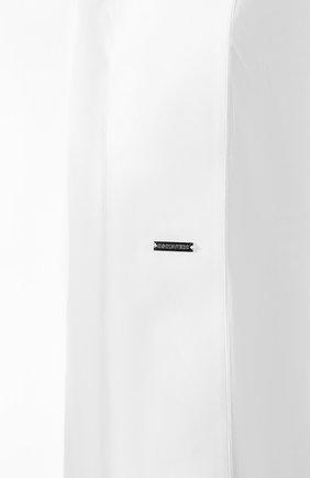 Женская хлопковая рубашка DSQUARED2 белого цвета, арт. S75DL0698/S42381 | Фото 5