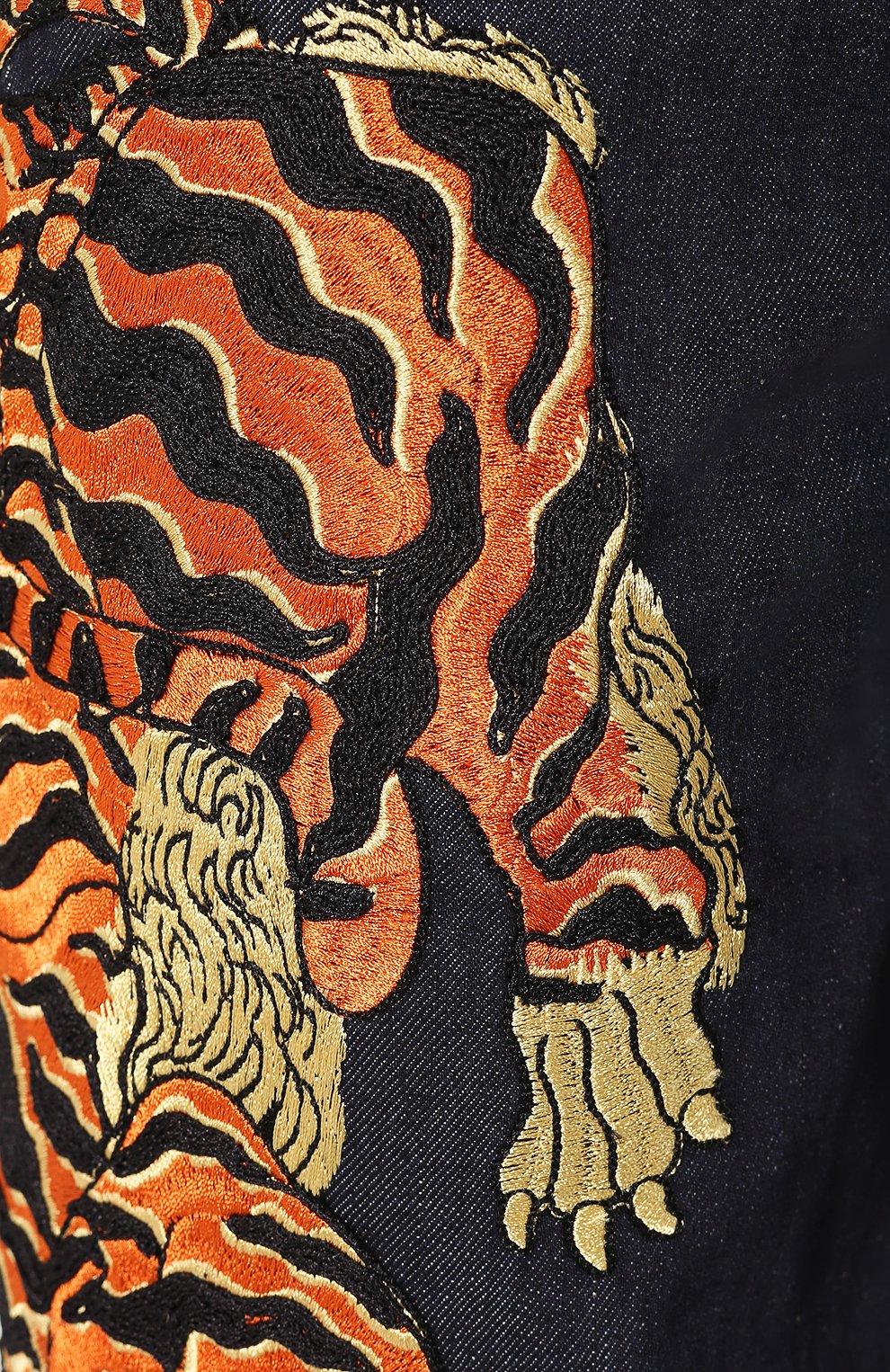 Женские джинсы DSQUARED2 синего цвета, арт. S72LB0307/S30309 | Фото 5