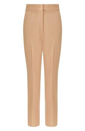 Женские шерстяные брюки STELLA MCCARTNEY бежевого цвета, арт. 529866/SNB48 | Фото 1