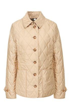 Женская куртка fernleigh BURBERRY бежевого цвета, арт. 8023321 | Фото 1