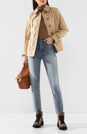 Женская куртка fernleigh BURBERRY бежевого цвета, арт. 8023321 | Фото 2