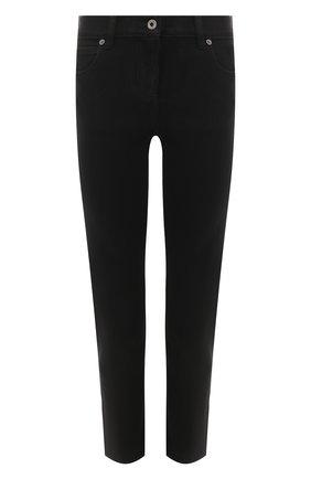 Женские джинсы VALENTINO черного цвета, арт. TB3DD09Q4VW | Фото 1