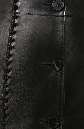 Кожаное пальто | Фото №5