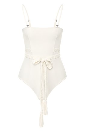 Женский слитный купальник CLUBE BOSSA белого цвета, арт. M163S120 | Фото 1