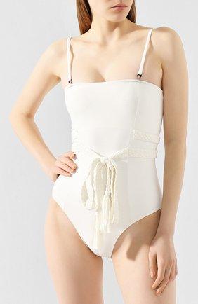 Женский слитный купальник CLUBE BOSSA белого цвета, арт. M163S120 | Фото 2
