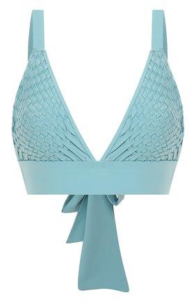 Женский треугольный бра CLUBE BOSSA голубого цвета, арт. T136S120   Фото 1