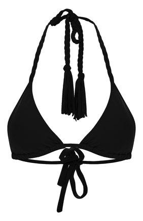 Женский треугольный бра CLUBE BOSSA черного цвета, арт. T75CS120 | Фото 1