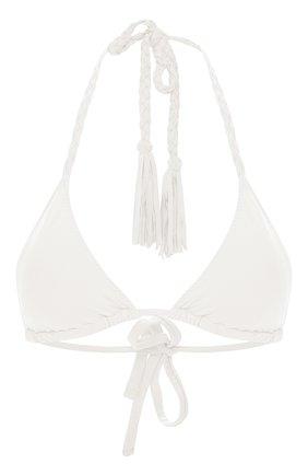 Женский треугольный бра CLUBE BOSSA белого цвета, арт. T75CS120 | Фото 1