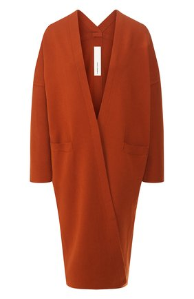 Женский кардиган из вискозы ISABEL BENENATO оранжевого цвета, арт. DK03S20 | Фото 1