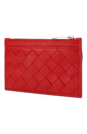 Женская кожаный футляр для ключей BOTTEGA VENETA красного цвета, арт. 608784/VCPP3 | Фото 2