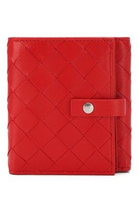 Женские портмоне BOTTEGA VENETA красного цвета, арт. 608074/VCPP3 | Фото 1