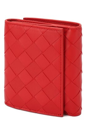Женские портмоне BOTTEGA VENETA красного цвета, арт. 608074/VCPP3 | Фото 2