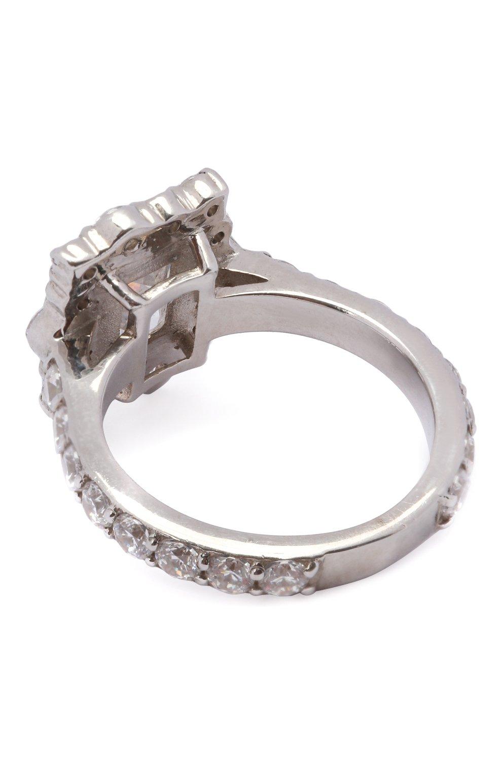 Женское кольцо love LEVASHOVAELAGINA серебряного цвета, арт. lover/r   Фото 2