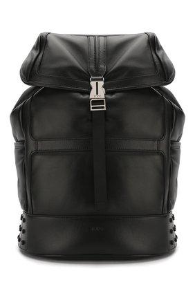 Мужской кожаный рюкзак TOD'S черного цвета, арт. XBMTDSG0300M37 | Фото 1