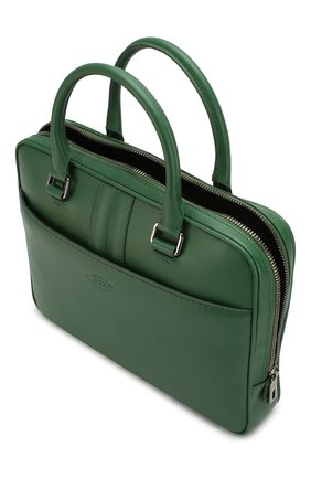 Кожаная сумка для ноутбука | Фото №4