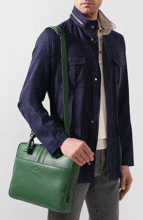 Кожаная сумка для ноутбука | Фото №5