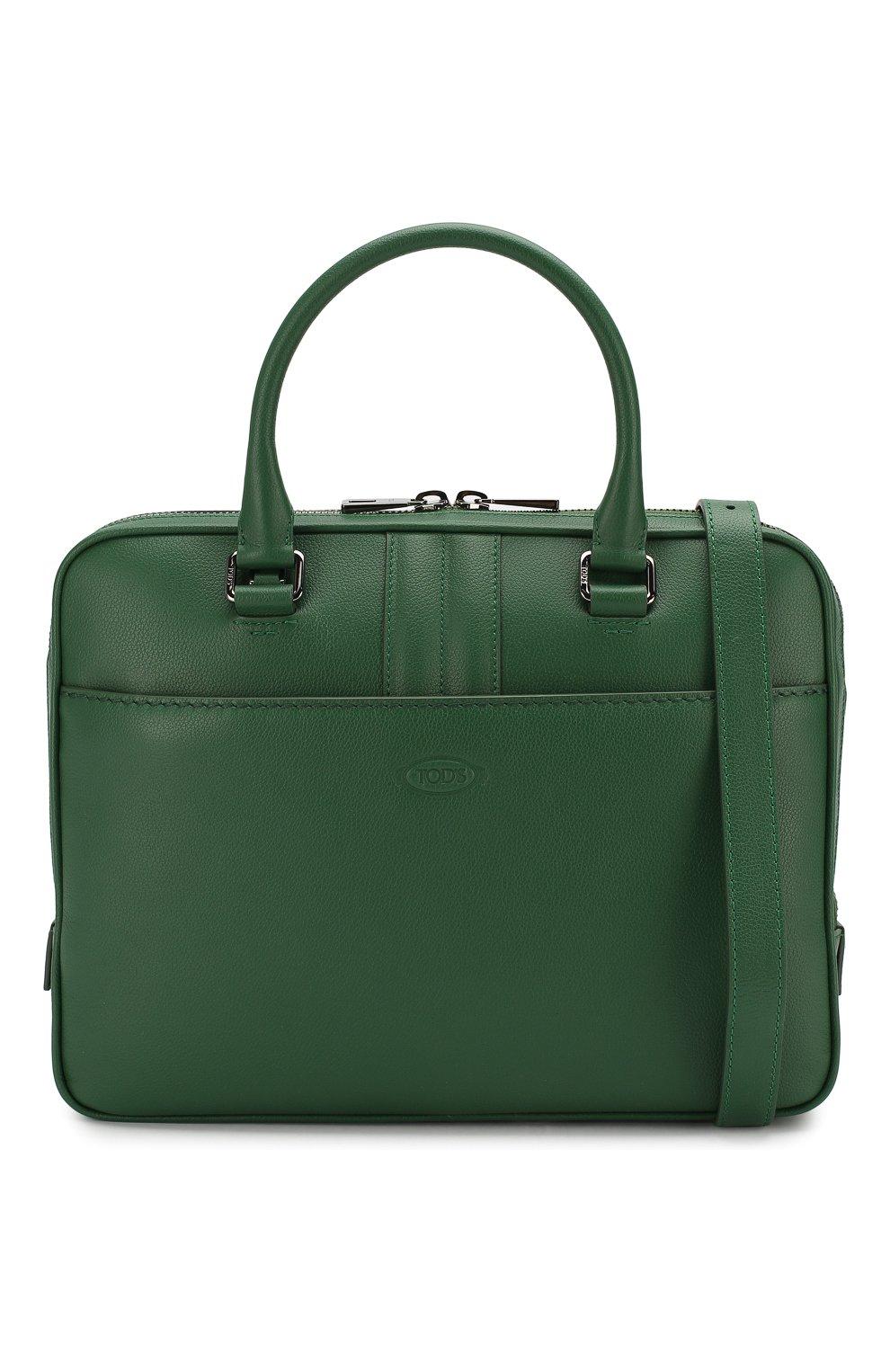 Кожаная сумка для ноутбука | Фото №6
