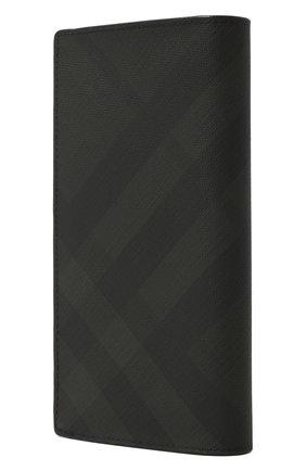Мужской портмоне BURBERRY темно-серого цвета, арт. 8014479   Фото 2