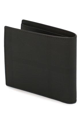Мужской портмоне BURBERRY темно-серого цвета, арт. 8022553 | Фото 2