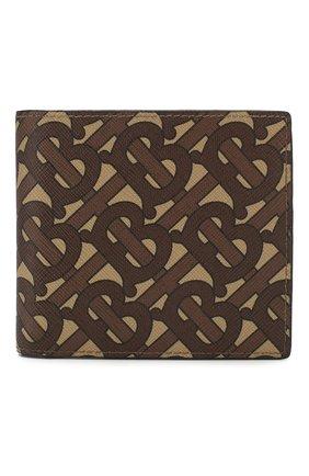 Мужской портмоне BURBERRY светло-коричневого цвета, арт. 8022913 | Фото 1