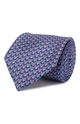 Мужской шелковый галстук ZILLI разноцветного цвета, арт. 50579/TIES | Фото 1