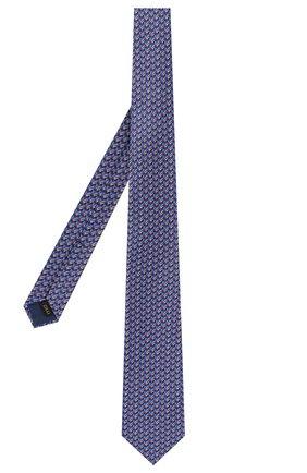 Мужской шелковый галстук ZILLI разноцветного цвета, арт. 50579/TIES | Фото 2