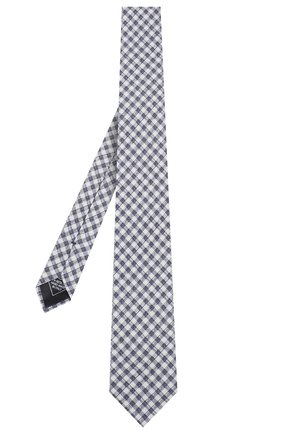 Мужской комплект из галстука и платка BRIONI синего цвета, арт. 08A900/P940L   Фото 2