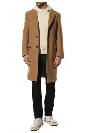 Мужские текстильные кроссовки LORO PIANA белого цвета, арт. FAL0332 | Фото 2