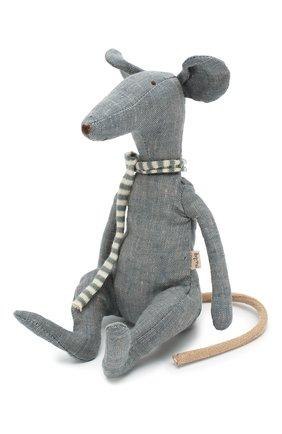 Детского игрушка крыса в коробке MAILEG голубого цвета, арт. 16-8971-01   Фото 2
