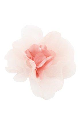 Детская заколка-клак tenderness JUNEFEE розового цвета, арт. 5868 | Фото 1