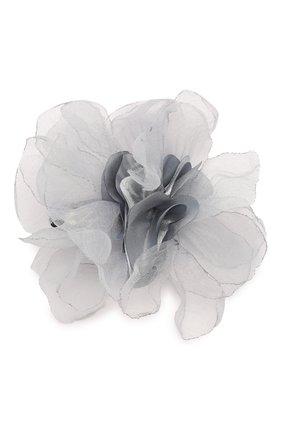 Детская заколка-клак tenderness JUNEFEE серого цвета, арт. 5870 | Фото 1