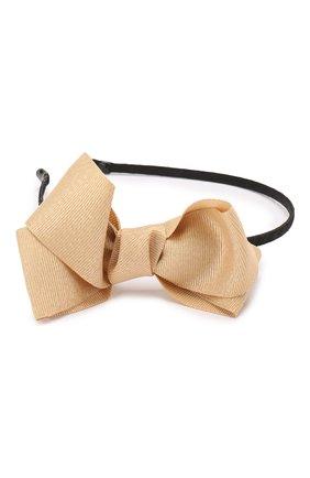 Детского ободок bow sh JUNEFEE золотого цвета, арт. 6156 | Фото 2