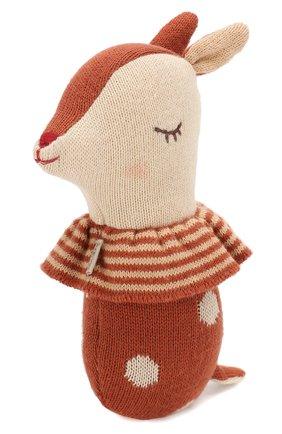 Детского погремушка бэмби MAILEG коричневого цвета, арт. 16-9910-02 | Фото 1