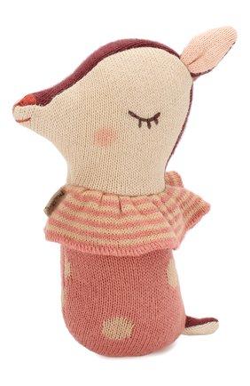 Детского погремушка бэмби MAILEG розового цвета, арт. 16-9910-00 | Фото 1