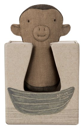 Детского погремушка обезьяна MAILEG коричневого цвета, арт. 16-8915-00 | Фото 2
