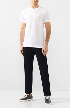 Мужская хлопковая футболка BILLIONAIRE белого цвета, арт. B20C MTK4193 BTE014N | Фото 2
