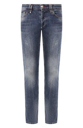 Мужские джинсы PHILIPP PLEIN синего цвета, арт. S20C MDT2145 PDE004N | Фото 1