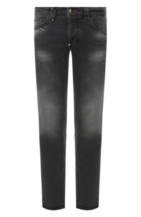 Мужские джинсы PHILIPP PLEIN серого цвета, арт. S20C MDT2145 PDE004N | Фото 1