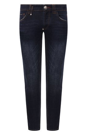 Мужские джинсы PHILIPP PLEIN темно-синего цвета, арт. S20C MDT2145 PDE004N | Фото 1