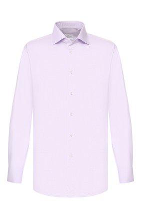 Мужская хлопковая сорочка BRIONI сиреневого цвета, арт. RCLU1Y/P7003 | Фото 1