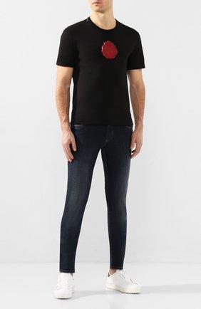 Мужские джинсы DOLCE & GABBANA темно-синего цвета, арт. GY07LD/G8BY4   Фото 2