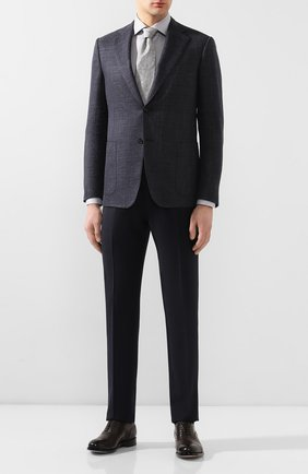 Мужская хлопковая сорочка VAN LAACK серого цвета, арт. RIVARA-SF/161448 | Фото 2