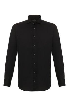 Мужская хлопковая сорочка VAN LAACK черного цвета, арт. RES0-SFN/150018 | Фото 1
