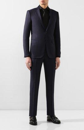 Мужская хлопковая сорочка VAN LAACK черного цвета, арт. RES0-SFN/150018 | Фото 2