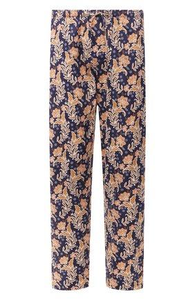 Мужские хлопковые домашние брюки ZIMMERLI разноцветного цвета, арт. 4756-75180 | Фото 1