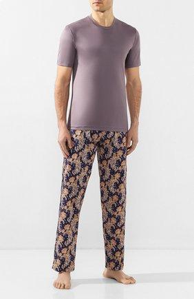 Мужские хлопковые домашние брюки ZIMMERLI разноцветного цвета, арт. 4756-75180 | Фото 2