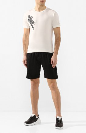 Мужская хлопковая футболка STONE ISLAND SHADOW PROJECT белого цвета, арт. 721920110 | Фото 2